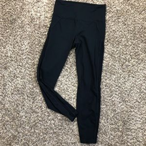 Women's Athleta black tight leggings Sz Small